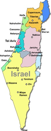 Israel Map S